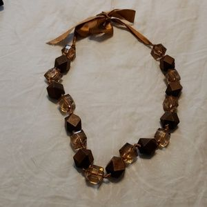 Chunky light one of a kind necklace